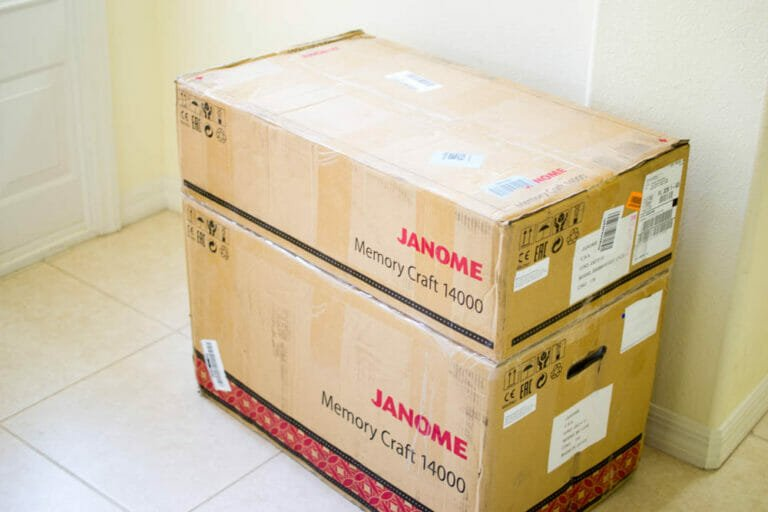 My new Janome Memory Craft 14000