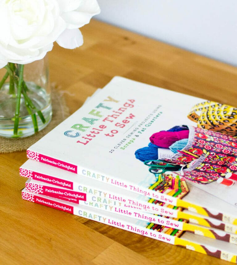 My new book Crafty Little Things to Sew is here!!!
