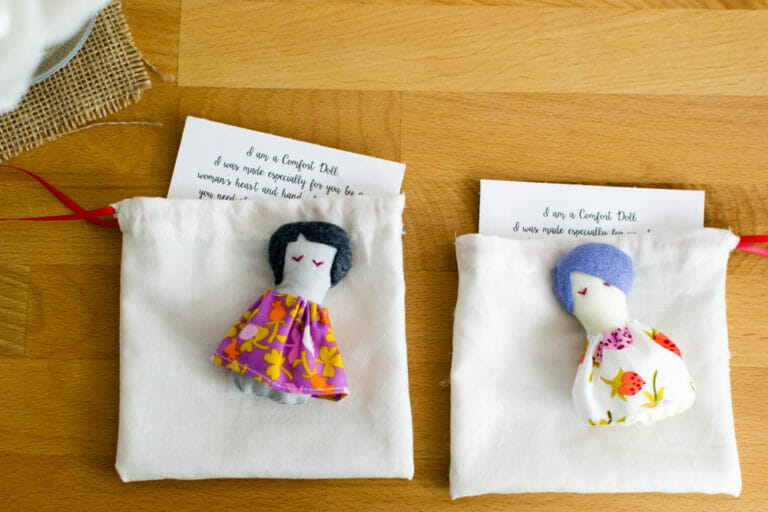 Sew because you care… the Comfort Doll Project