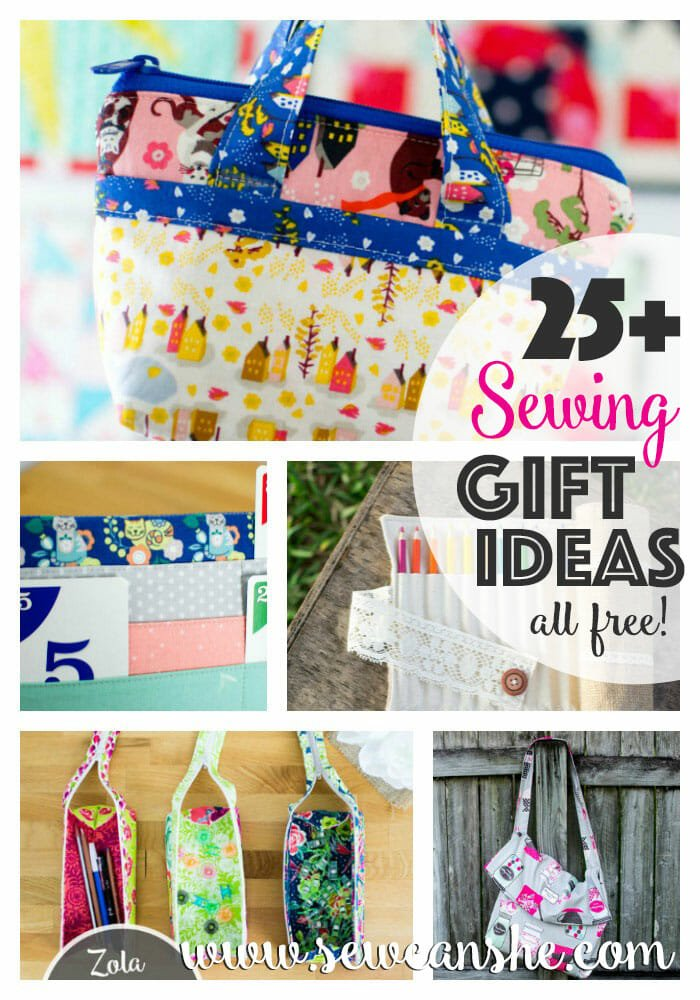 25+ Easy Sewing Gift Ideas to make you everyone's favorite sewist!
