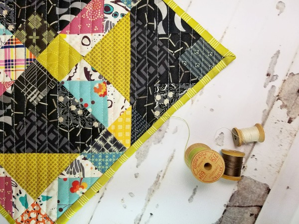 Monthly Mini Quilt for February – Eclipse!