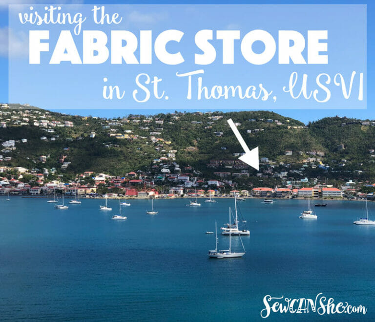 How to Find The Fabric Store in St. Thomas, U.S.V.I.