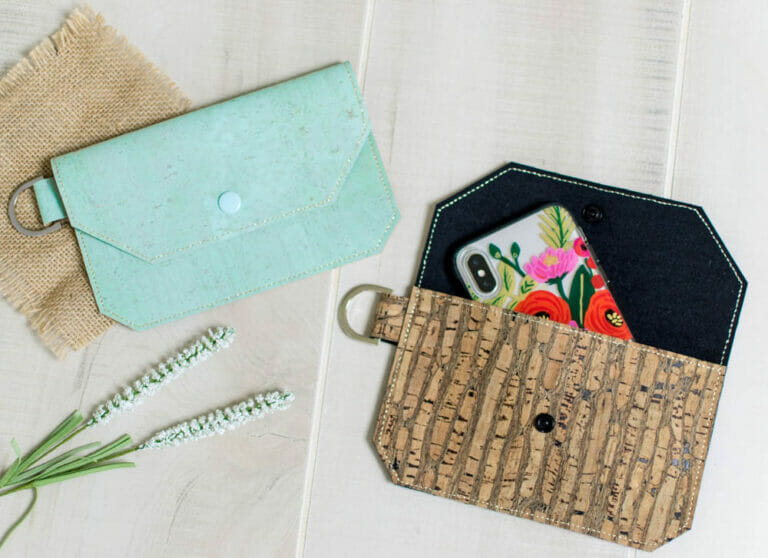 Show Off Saturday: Bigger (and better?) Cork Fabric Wallets!