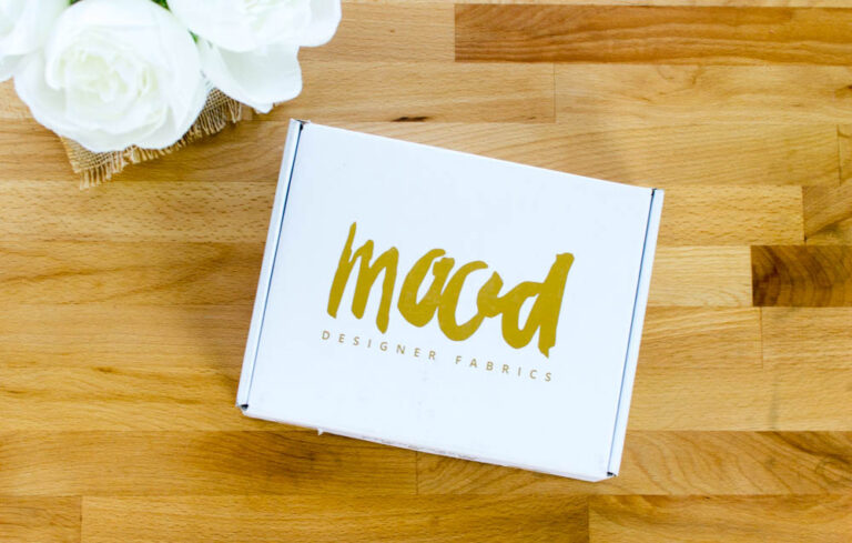 Product Review: a peek at the Swatch Club Box from Mood Fabrics!