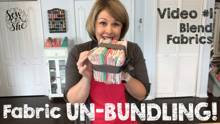 My 1st Fabric Unbundling Video – Panda Forest Fabrics from Katy Tanis!