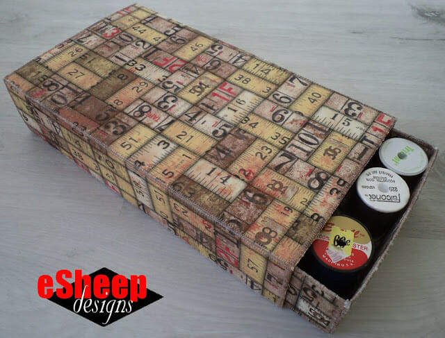 Learn How to Make Incredible Fabric Match Box!
