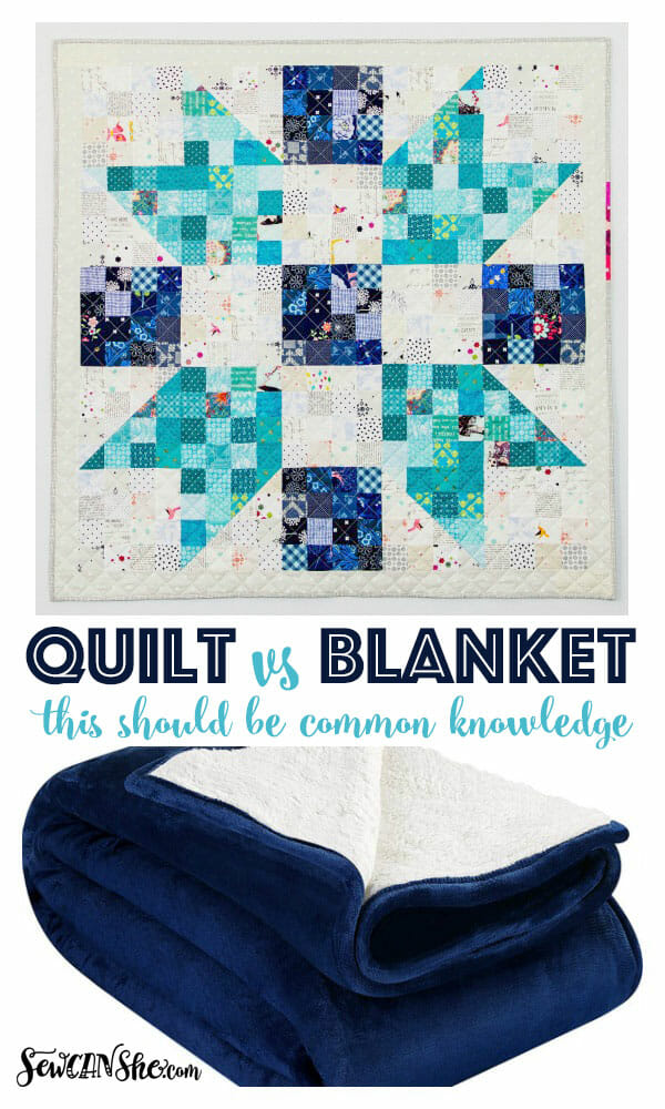 The difference between a Quilt and a Blanket – this should be common knowledge!