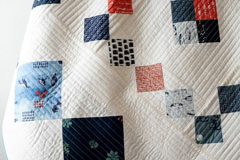 My first Huddle Quilt