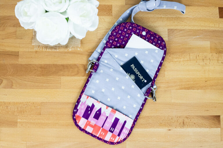 Sew a Handy Travel Case – Free Sewing Pattern