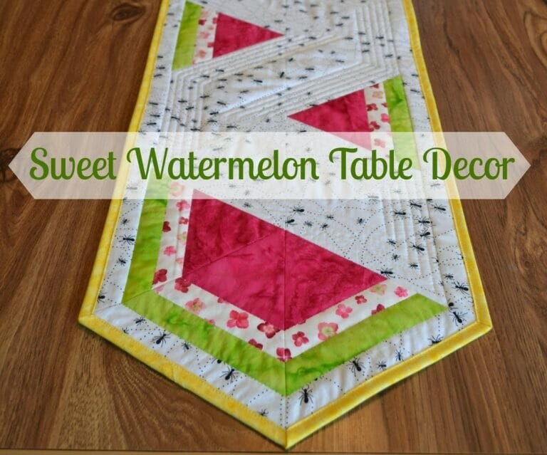 Lorna's Free Watermelon Table Runner Pattern!