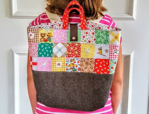 Sewing Heidi's Cute Patchwork Cubby Pack!