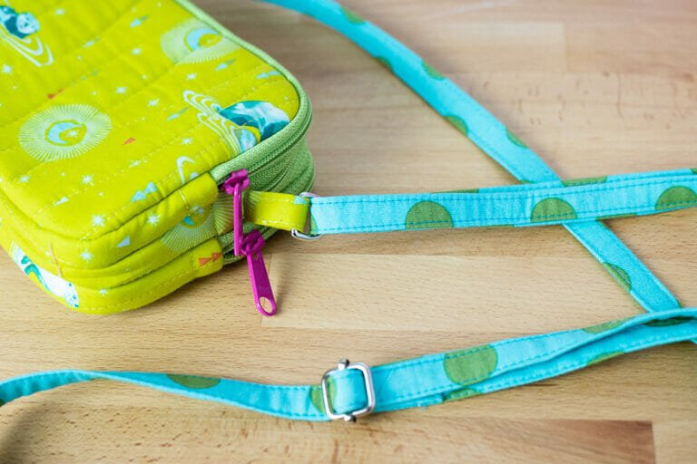 How to Make an Adjustable Bag Strap – easy and free sewing tutorial