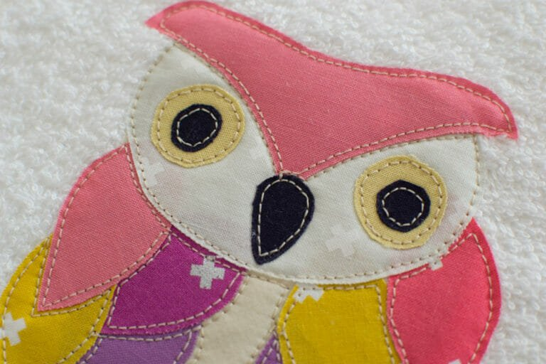 Free Ruffled Feathers Owl Applique Pattern