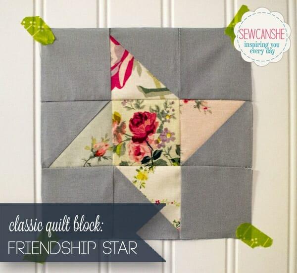 Easy Quilt Block Tutorial:  The Friendship Star