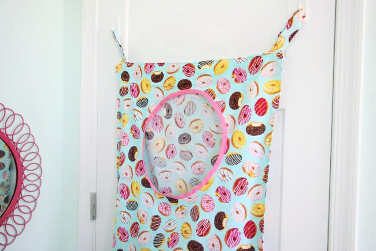 Friday Spotlight! Brandy's Fun Kids Laundry Bag!