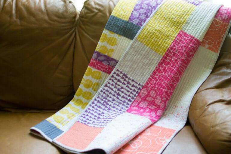 New Free Fat Quarter Fizz Quilt Pattern from Fat Quarter Shop!