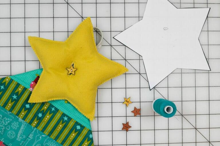 Puffy Felt Star – Free Sewing Pattern