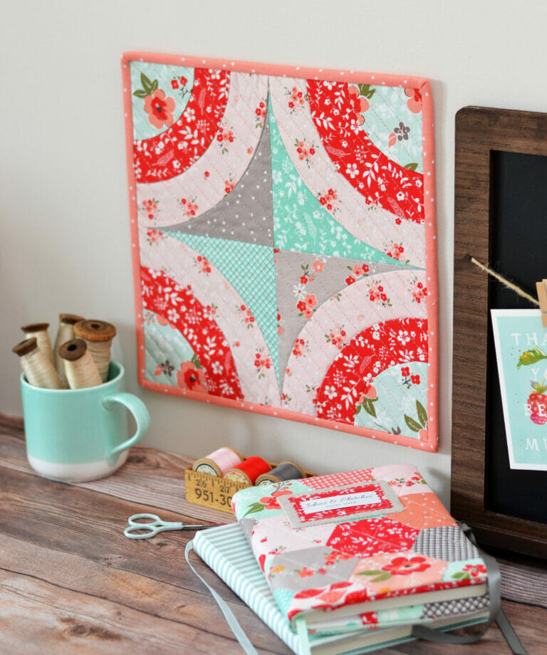 Monthly Mini Quilts… the Sushi Roll!