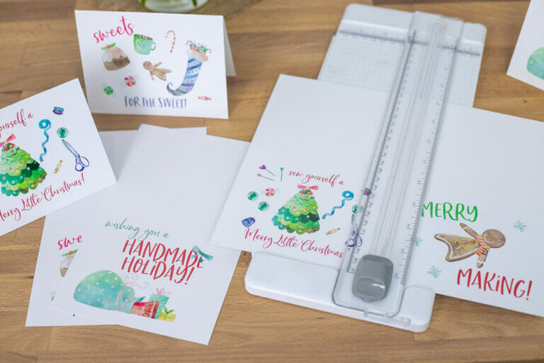 How to Get Printable Versions of my Tutorials – plus a Holiday Bonus!