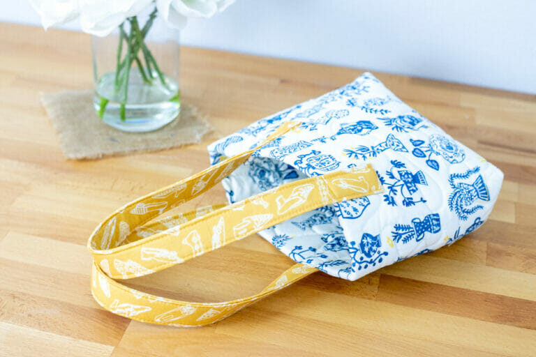 Show Off Saturday… a little bag that was SOOO easy!