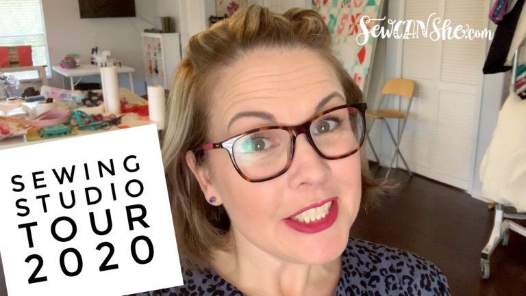 Sewing Studio Video Tour – new for 2020!