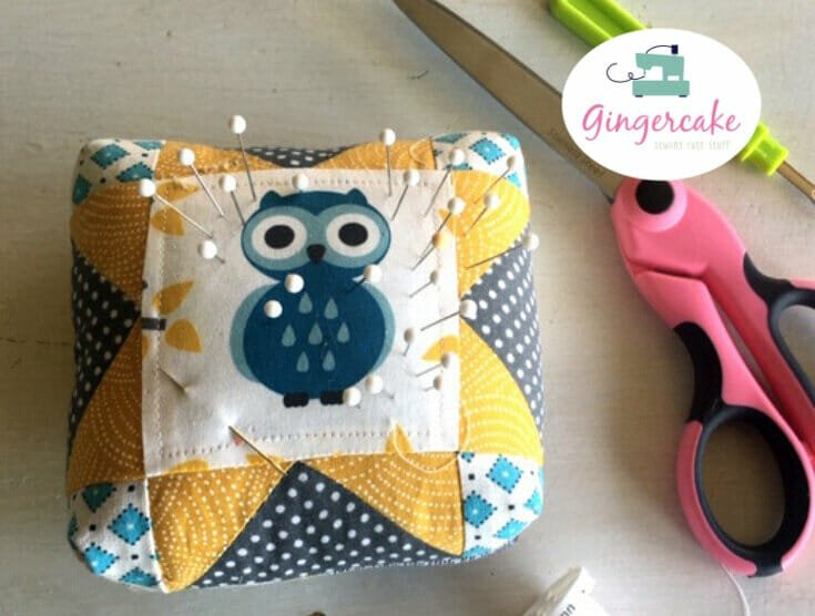 How to Sew Gingercake's Classic Sawtooth Star Pin Cushion!