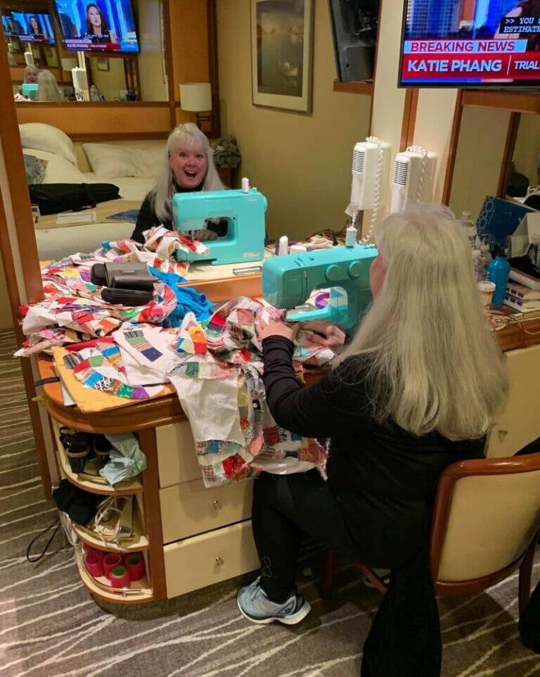 Meet Belinda Dill – the quarantined quilter!