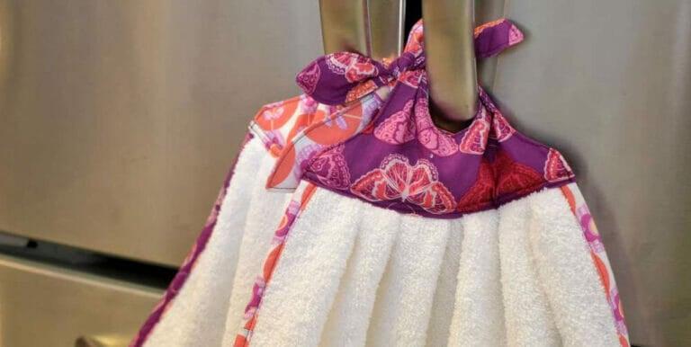 How to Sew Sherri's Sew Handy Fridge Towels