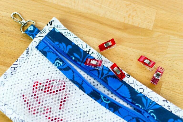 Clippie Zippies… customizable zipper pouch sewing pattern
