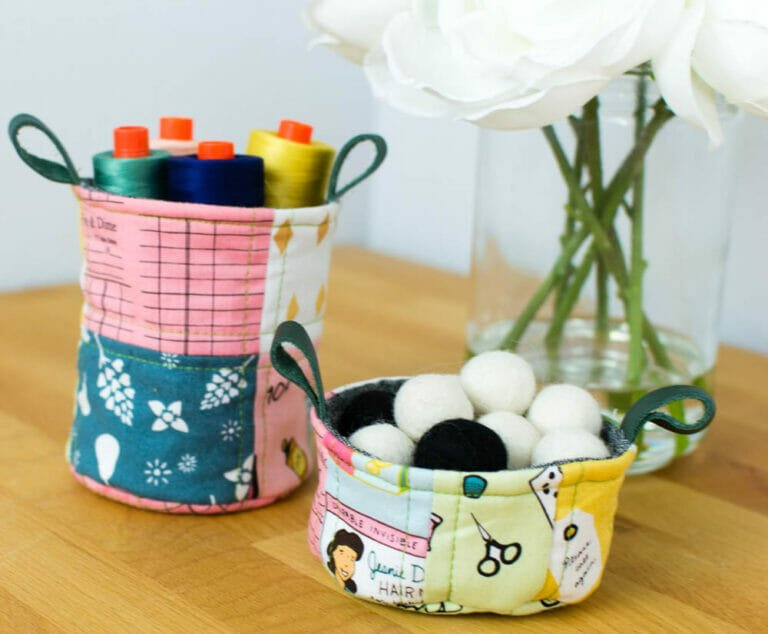 Sew Cute Quilted Desk Cups!