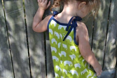 Easy Girls Romper Sewing Pattern – free