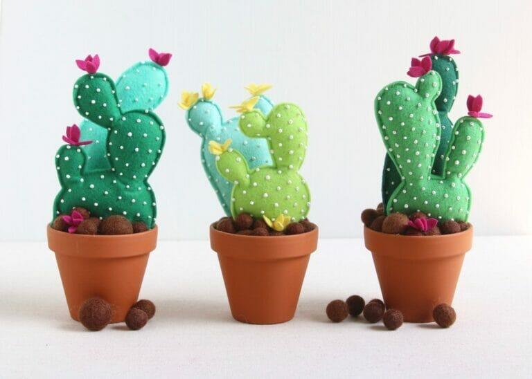 How to Sew a Felt Cactus Succulent!
