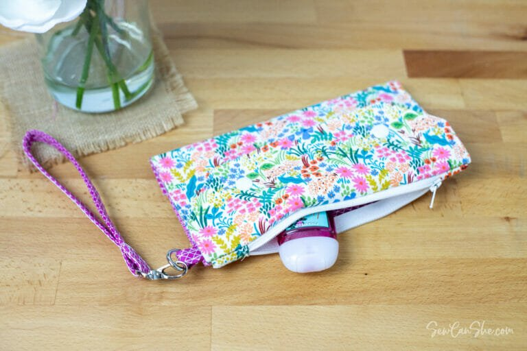 Sew a Face Mask Wallet – free pattern