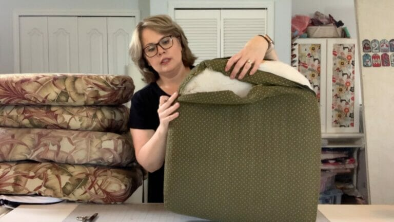 How to Deconstruct Patio Furniture Cushions – Video Tutorial