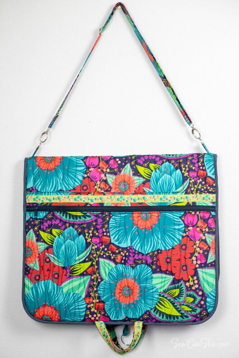 U-Pick Sewing Project Success – my Beautiful Garment Bag