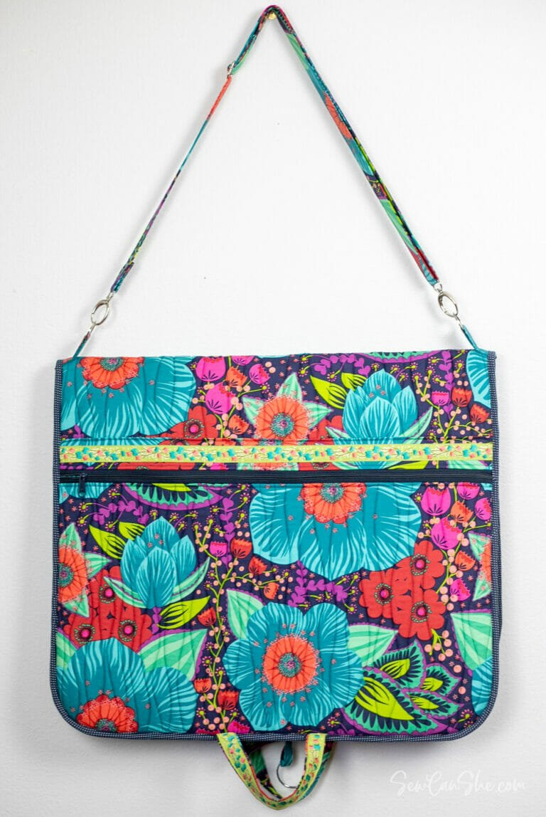 Sew a Gorgeous Garment Bag – free sewing pattern