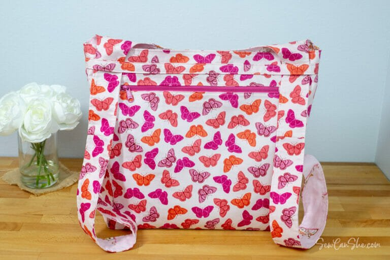 Sew A Convertible Backpack Tote – free sewing pattern!