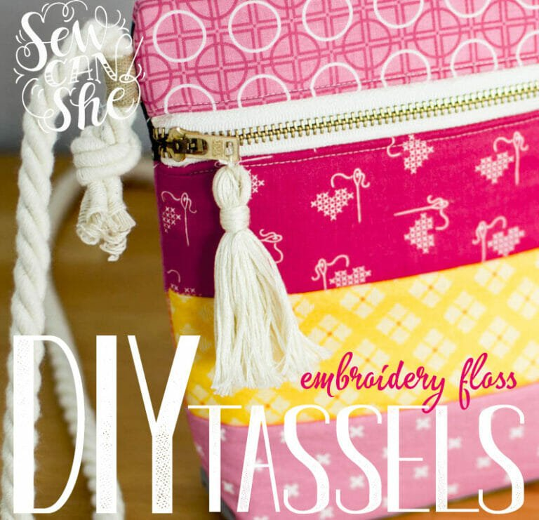 DIY Video – How to Make Embroidery Thread Tassels!