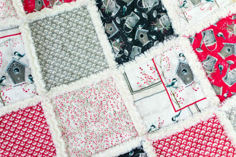 How to sew a Rag Quilt {the Ultimate Guide}