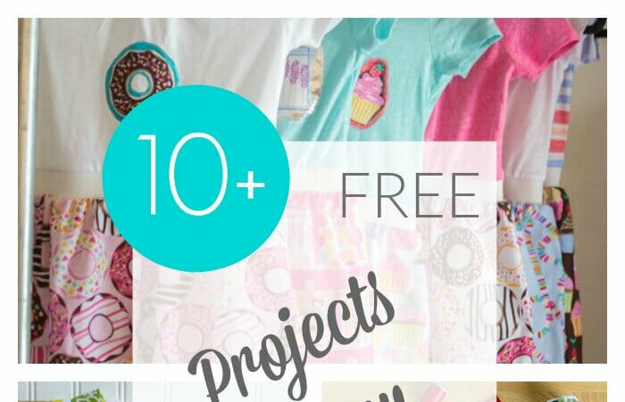 10+ Free Projects to Sew for Girls