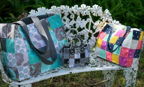 How to Sew Speedy Patchwork Tote Bags (easy sewing tutorial)
