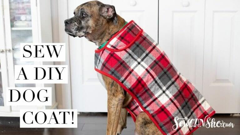 DIY Fur Baby Coat –  how to sew a dog coat