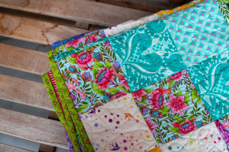 Quilting My Color By Number Quilt Block by Block!