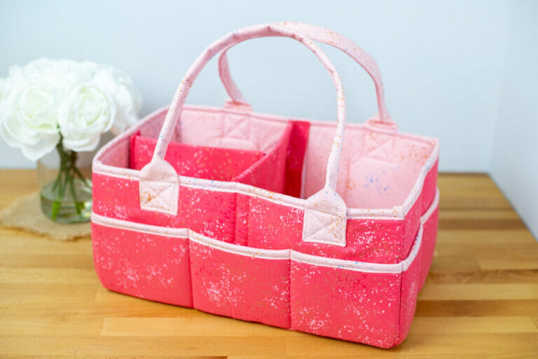 Sew the Miracle Caddy – free sewing pattern for a multi-purpose organizer