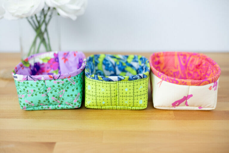 Fast and Easy Petit Four Baskets – and how to ditch the baggy lining!