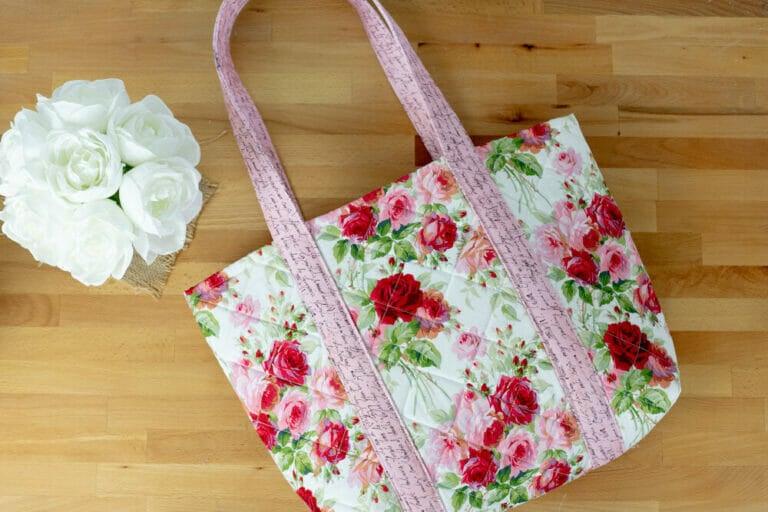 Sew Easy Big Tote Bag – free sewing tutorial