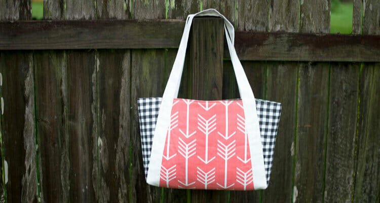 The Picnic Tote… free sewing pattern!