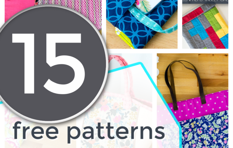 15 Free Sewing Patterns that use Magnetic Snaps
