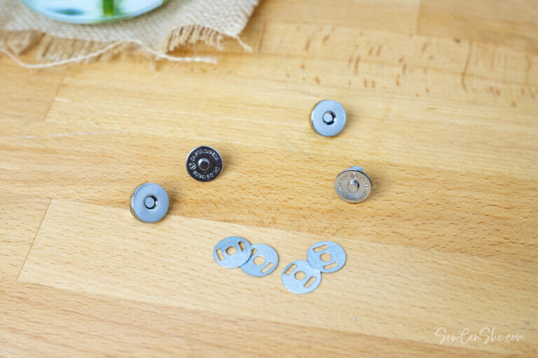 These Magnetic Snaps are Easier to Sew Around