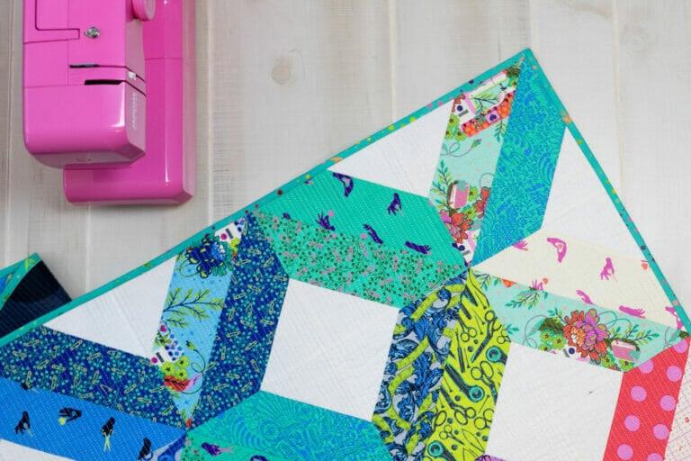 Fat Quarter Fancy II – A New Free Fat Quarter Quilt Pattern!
